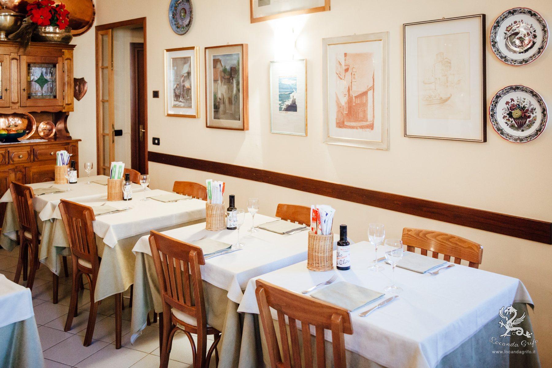 albergo e ristorante tipico sul Lago di Como Locanda Grifo di Campo, Lenno