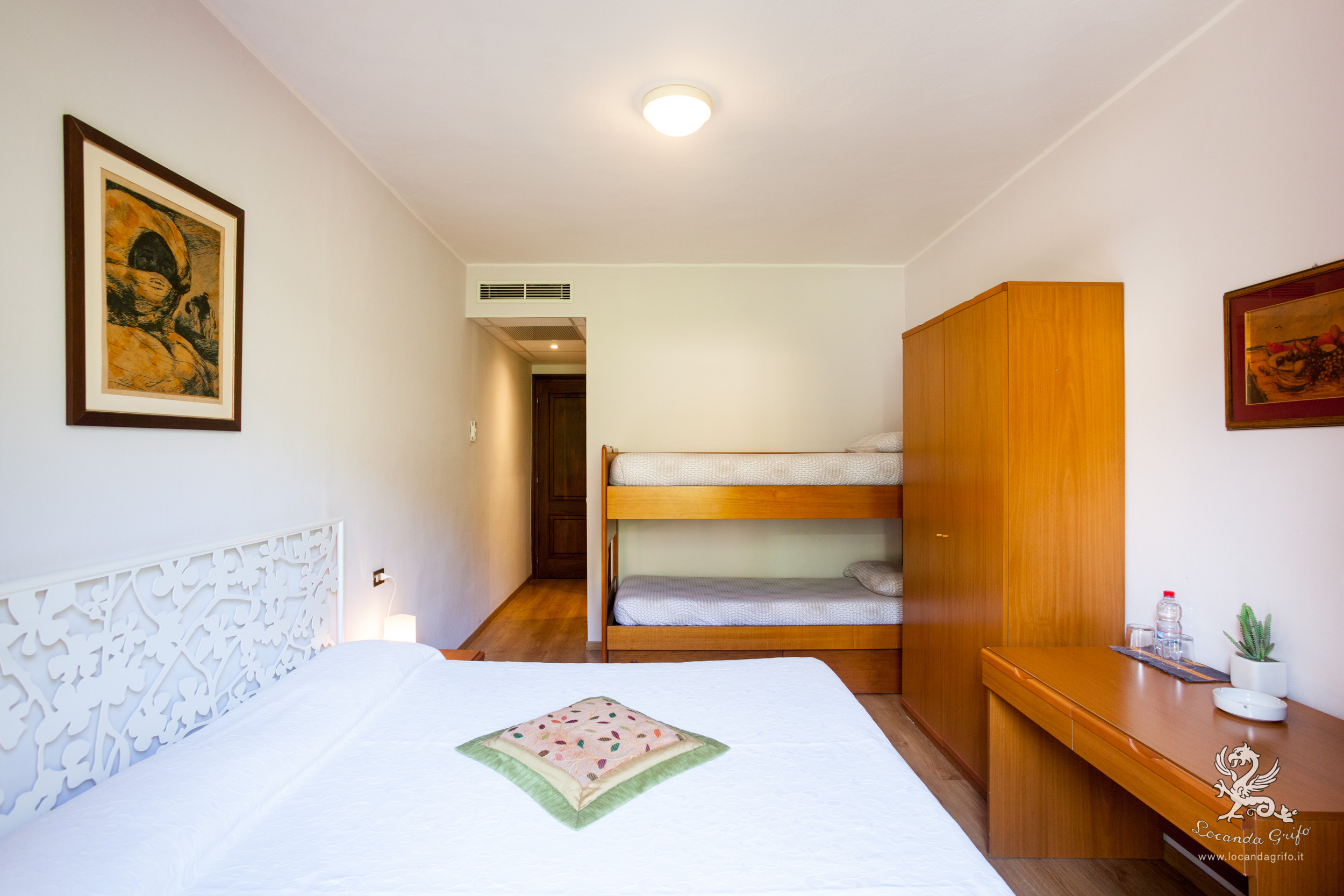 Camera quadrupla - Locanda Grifo, albergo a Lenno sul Lago di Como