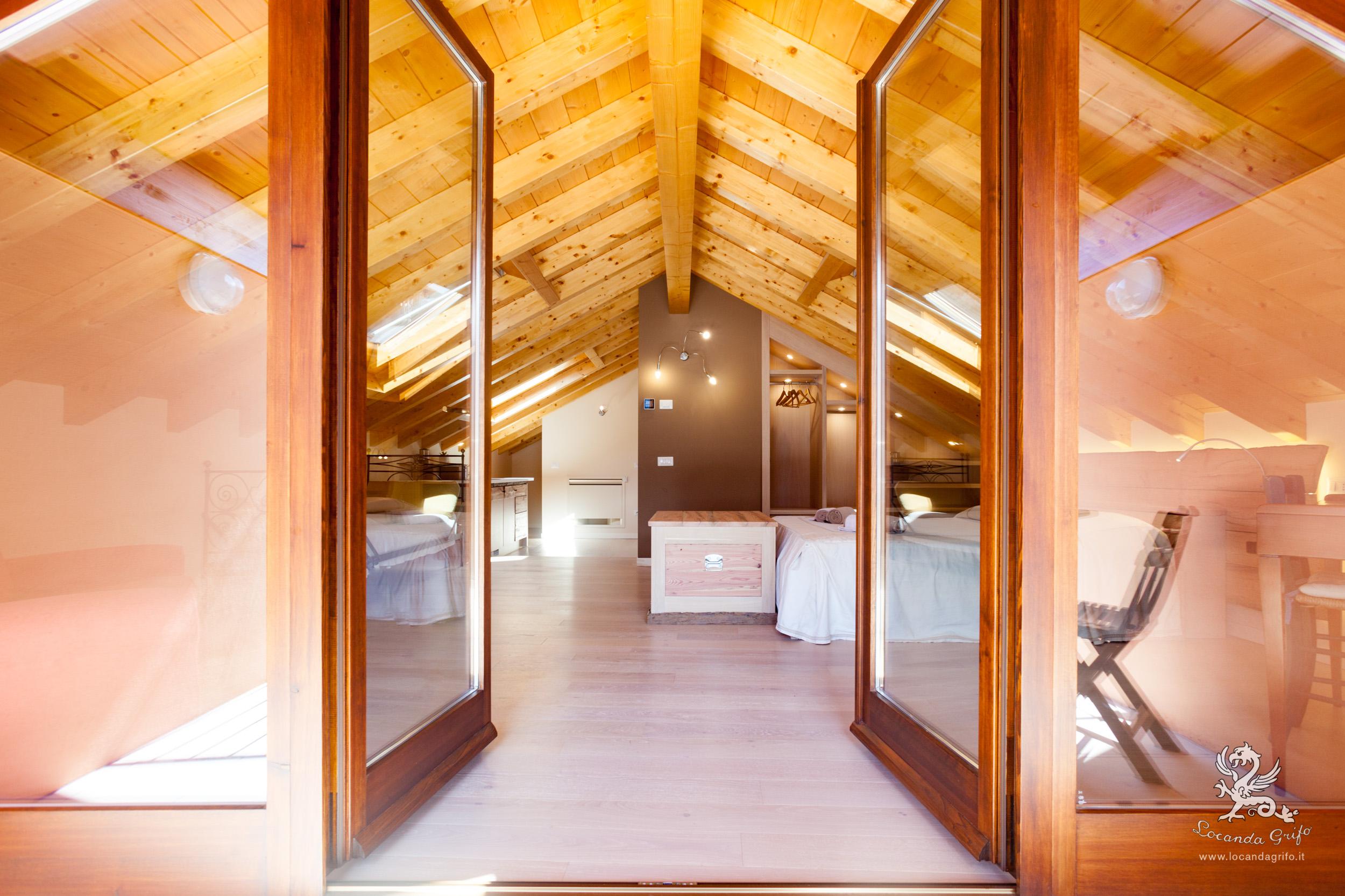 Attic - Locanda Grifo, albergo a Lenno sul Lago di Como