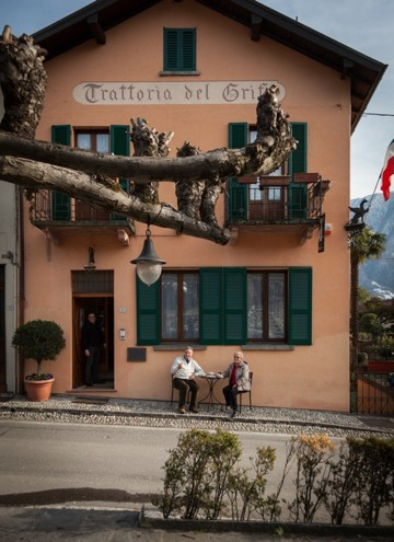 albergo e ristorante tipico sul Lago di Como Locanda Il Grifo di Campo, Lenno