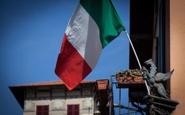 Lo stemma del Grifone dell'albergo e ristorante tipico sul Lago di Como Locanda Grifo di Campo, Lenno