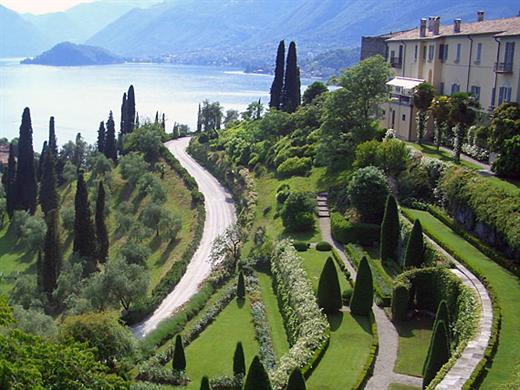 albergo e ristorante tipico sul Lago di Como Locanda Il Grifo di Campo, Lenno - Villa Serbelloni